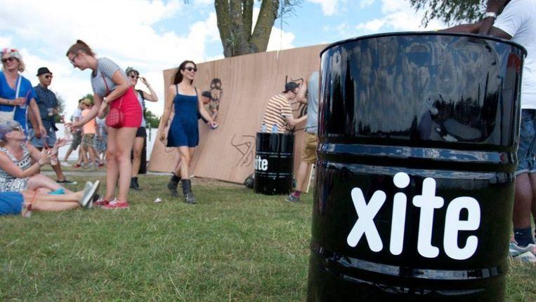 De muziekzender is veel aanwezig op festivals waar jongeren komen. Beeld XITE