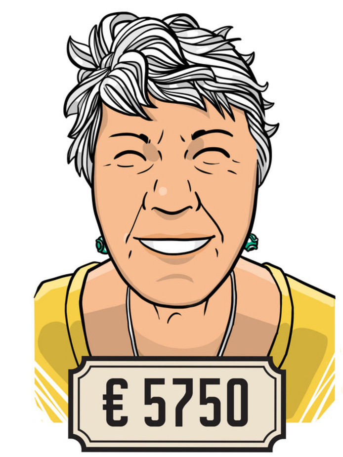 Marjolijn Honing (64) werkt 28 uur per week in het beleidsteam van een onderwijsinstelling.