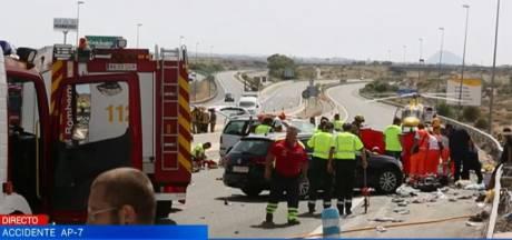 Nederlander en Belgische peuter omgekomen bij heftig ongeval in Spanje