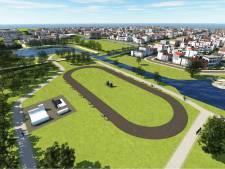 Schaatsers in Wageningen willen een skeelerbaan in park