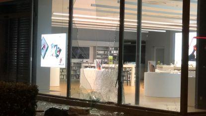 Twee inbrekers klemgereden na ramkraak op  Switch-winkel