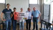 Beigemse brocante schenkt 3.000 euro aan goed doel