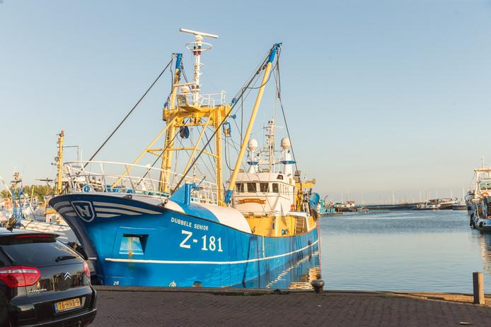 Aan boord van het vissersschip Dubbele Senior werd 300 kilo cocaïne gevonden.
