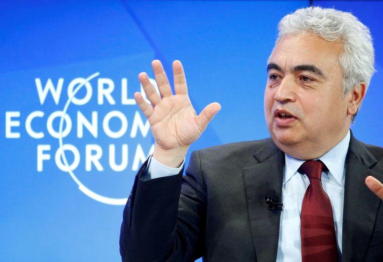 Fatih Birol, directeur van het Internationaal Energie Agentschap. Beeld REUTERS