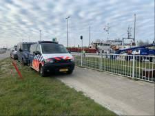 Vier onderkoelde en ondervoede Albanese verstekelingen aangetroffen op vrachtschip Terneuzen