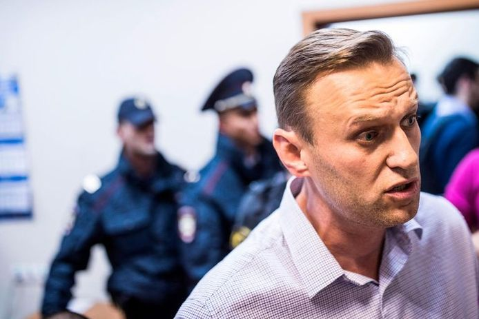 Russische oppositieleider Aleksej Navalny.