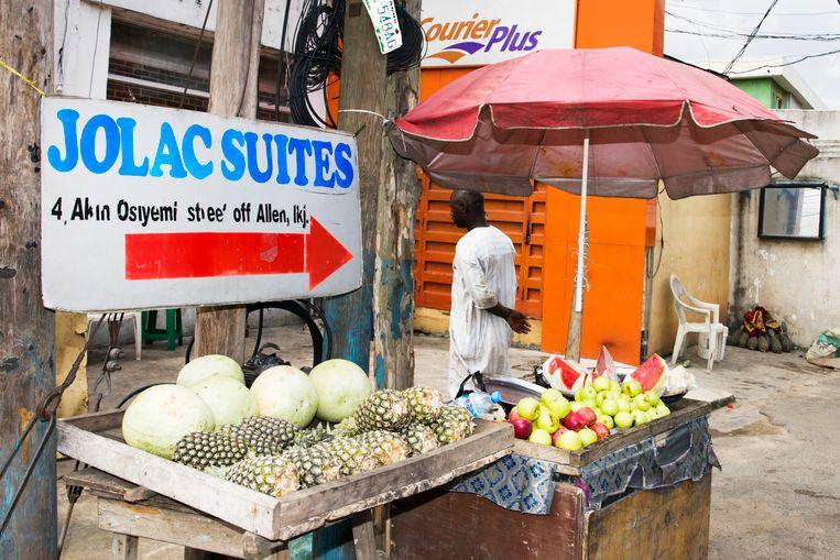 Lagos, Nigeria. Beeld Sanne De Wilde