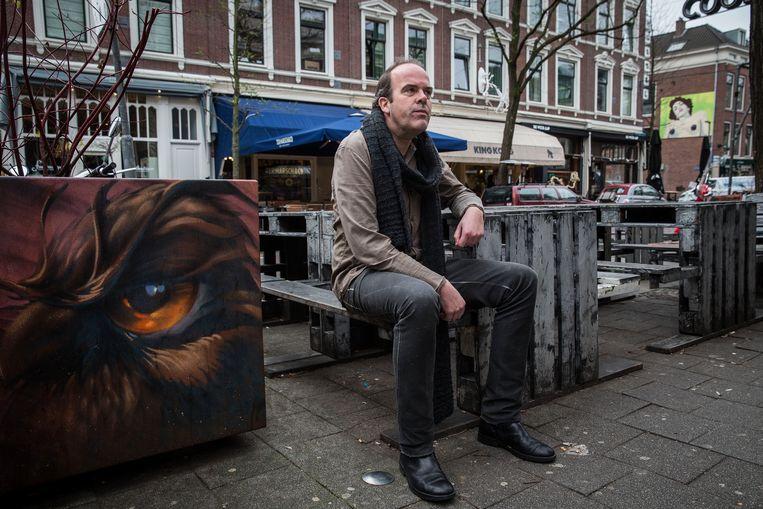 Criminoloog filosoof Marc Schuilenburg.  Beeld arie kievit
