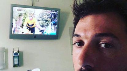 Wat een leuke dag in het Tourcircus had moeten worden, draait uit op etmaal vol ellende voor Fabian Cancellara