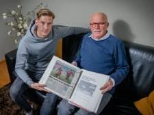 Joep van der Sluijs: Na elke wedstrijd van NEC even bellen met opa Gerrie