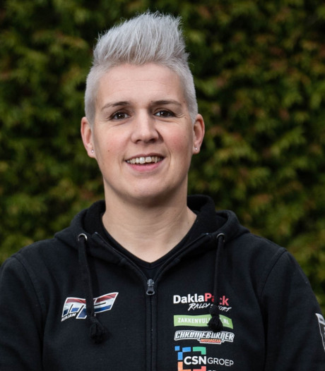 Mirjam Pol vertelt in Borne over rally