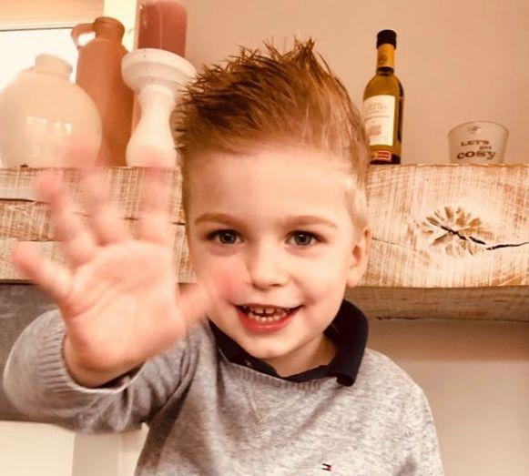 Kleine Loïc Depoortere (3,5) vecht voor zijn leven in het UZ Gent.