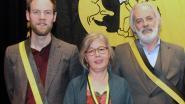 Wannes Cappelle, schrijster Sylvia Vanden Heede en illusionist Gili opgenomen in ridderorde 't Manneke uit de Mane