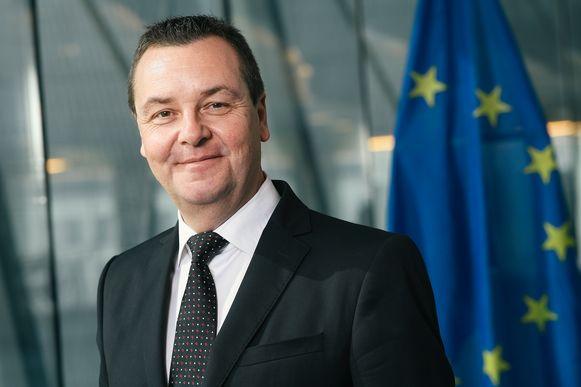 Europees parlementslid Mark Demesmaeker BELGA PHOTO DIRK WAEM
