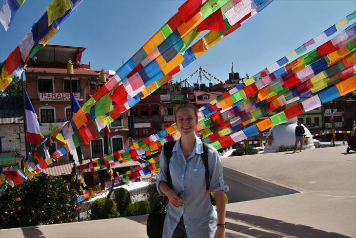 Bij terugkomst in Nederland bleek Nyncke van Aperloo in Nepal knokkelkoorts te hebben opgelopen.