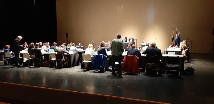 De gemeenteraad tijdens de algemene beschouwingen dinsdagavond.