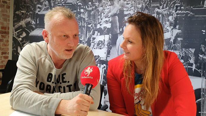 Leon ten Voorde en Fardau Wagenaar