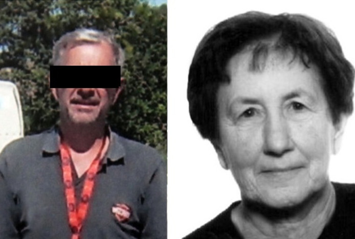 B. wordt verdacht van de moord op zijn vrouw, nu tien jaar geleden.