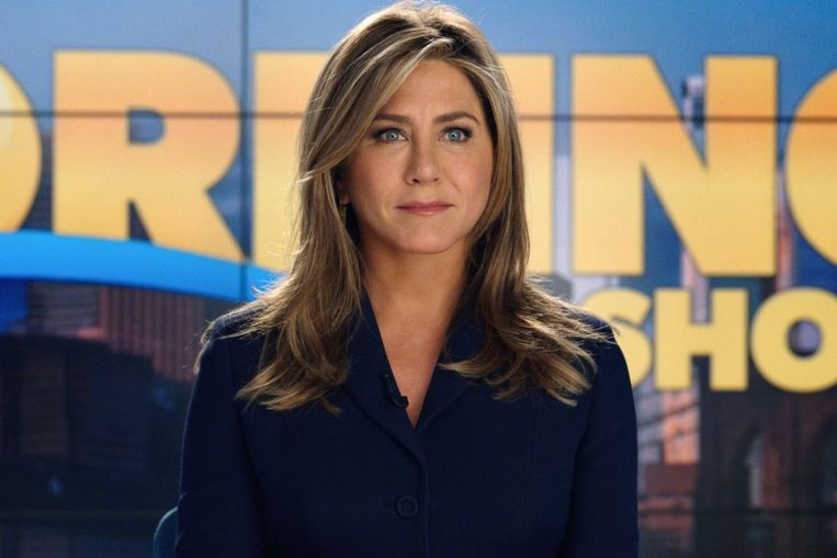 Jennifer Aniston in The Morning Show. Beeld null