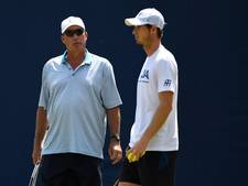 Murray breekt voor de tweede maal met coach Lendl