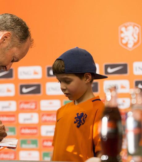 Joël Korf (6) beleeft dag van z'n leven bij Oranje