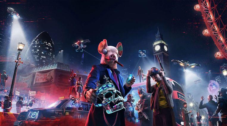 Watch Dogs Legion is een game die de Franse uitgever Ubisoft uitbrengt voor de PlayStation, maar ook voor andere spelcomputers en de pc. Beeld Ubisoft