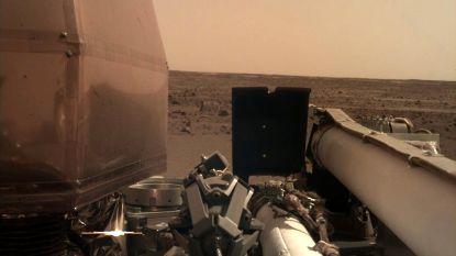 NASA deelt eerste prachtige foto van omgeving Marslander