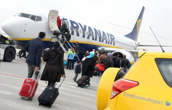 Ryanair heeft ook veel last van de stakingen in Frankrijk. Diverse vluchten zijn geannuleerd, andere hebben mogelijk te maken met vertragingen. ANP LEX VAN LIESHOUT