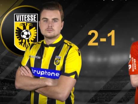 Vitesse wint digitale derby van NEC