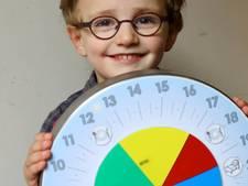 Noah (4) is dolblij dat hij straks elke dag mag slapen op school