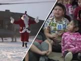 Kerstman bezoekt kinderen in afgelegen dorpjes Alaska