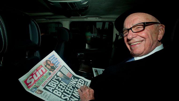 News Corp.- voorzitter Rupert Murdoch Beeld EPA