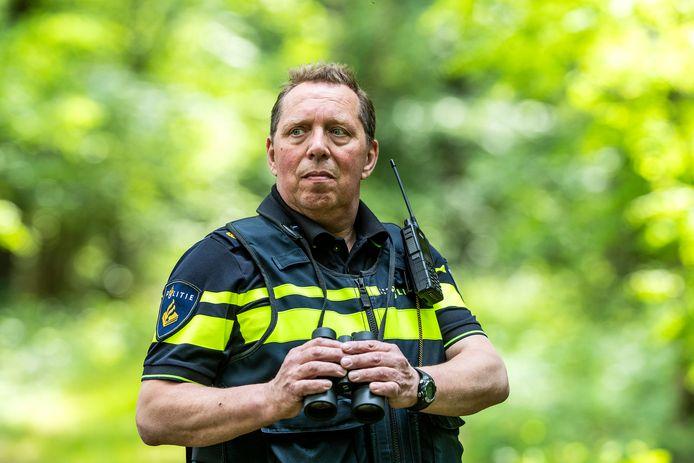 Willem Saris op pad in de omgeving van Winterswijk.