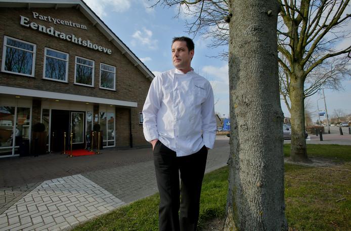 Dennis Vingerling van Partycentrum Eendrachtshoeve  opent het allereerste restaurant in Zuid-Beijerland