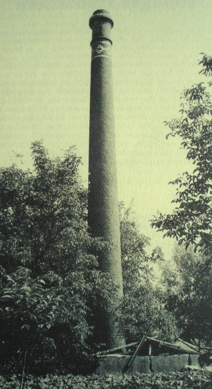 De schoorsteen in Aarle-Rixtel.