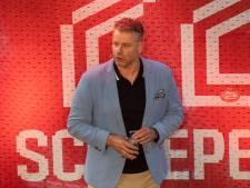 Rob Scheepers 'geniet zich een ongeluk' in het Philips Stadion