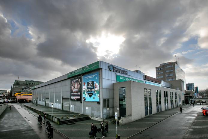 Het Beursgebouw op een archieffoto.
