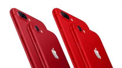 Apple lanceert knalrode iPhone als eerbetoon aan (RED)