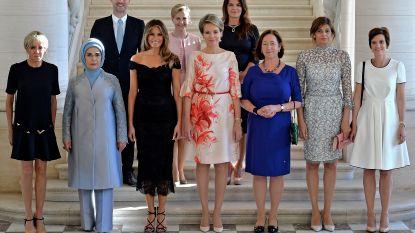Dit doen de partners van wereldleiders tijdens NAVO-top