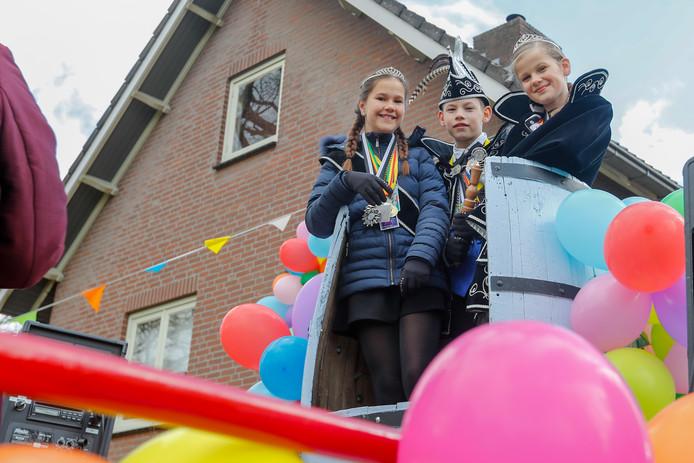 Carnavalsoptocht in Sterksel.