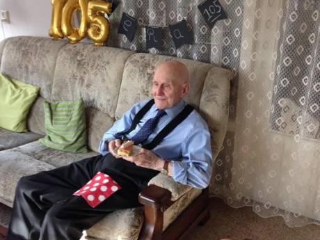 Rotterdammer viert 105de verjaardag: 'Hij heeft genoten'