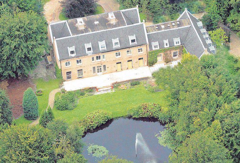 Villa Eikenhorst op landgoed De Horsten in Wassenaar, waar koning Willem-Alexander met zijn gezin woont. Beeld ANP
