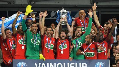 PSG pakt Franse beker door own-goal in blessuretijd