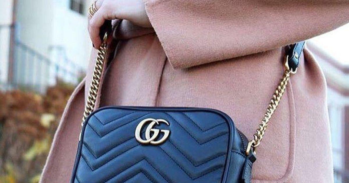 766e6b946e5 Is dat een echte Gucci of niet? Deze app herkent nepspullen   Style   Nina    HLN
