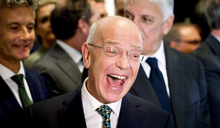 Zalm staat bekend als kundig en joviaal en ligt goed bij veel collega-politici. Beeld ANP
