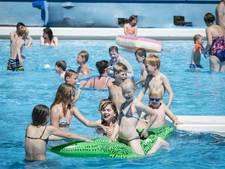 Topdrukte voor kassa's van Ootmarsums zwembad