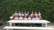 Axl Steurs bezorgt Middenschool gouden diploma op Euroclassica