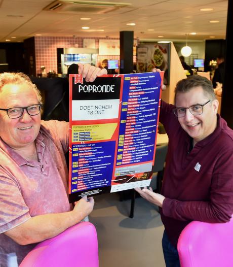 Wim Vriezen haalt eigenhandig de Popronde naar zijn stad met tientallen concerten