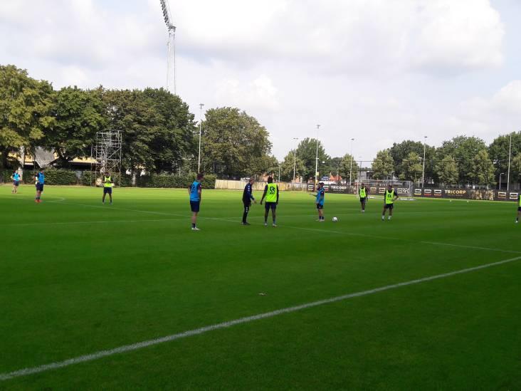 Willem II is op weg naar Waregem