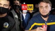 """HLN LIVE. """"Braziliaans president Bolsonaro lapt coronamaatregelen weer aan zijn laars"""""""